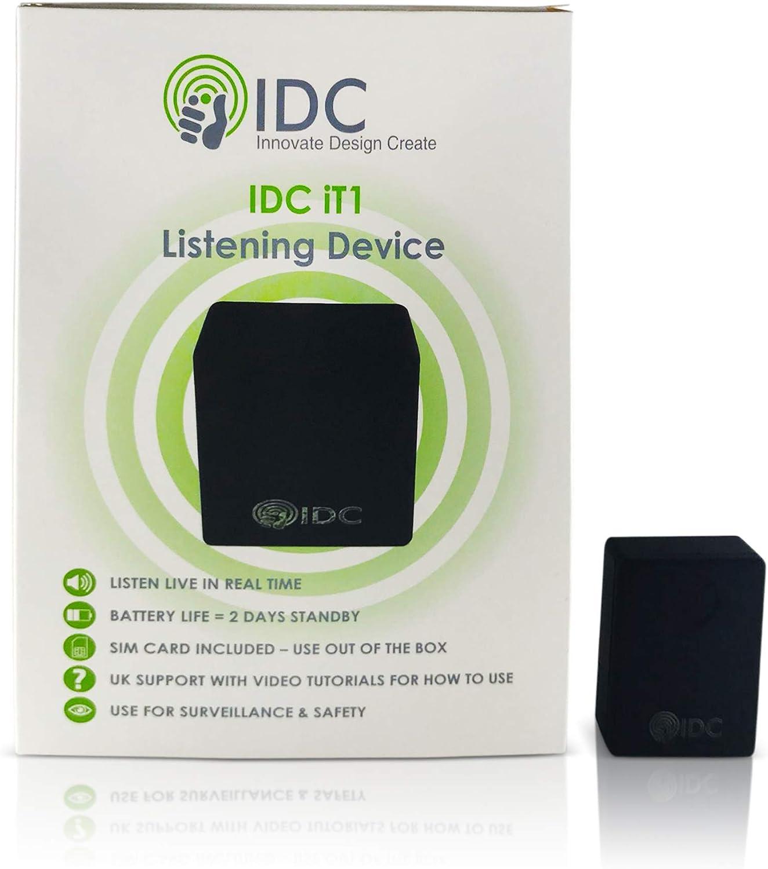 IDC © Él1 escucha sala Bug y seguridad dispositivo - pequeño discreto e imperceptibles - escuchar a sonidos/conversaciones desde cualquier lugar - sin contrato u oculta coste - Simple para usar -: