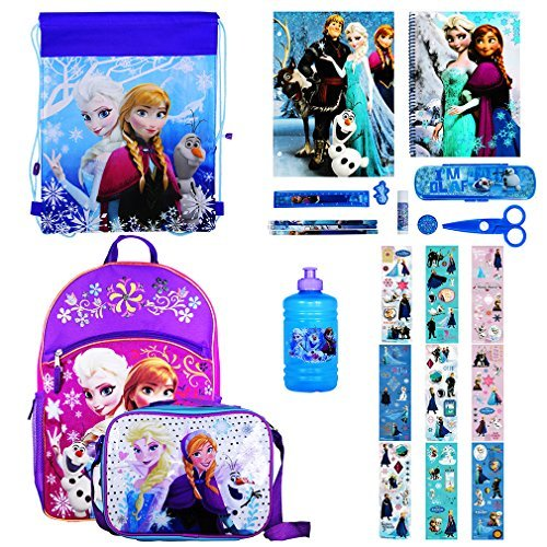 Teenage Disney Costumes (Disney Girl's Backpack with Lunchbox Set and Value Packs (Frozen  Value  Backpack))