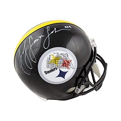 2e01b941b3d Juju Smith -Schuster Autographed Signed Steelers Full -Size Football Helmet  Memorabilia - JSA Authentic at Amazon's Sports Collectibles Store