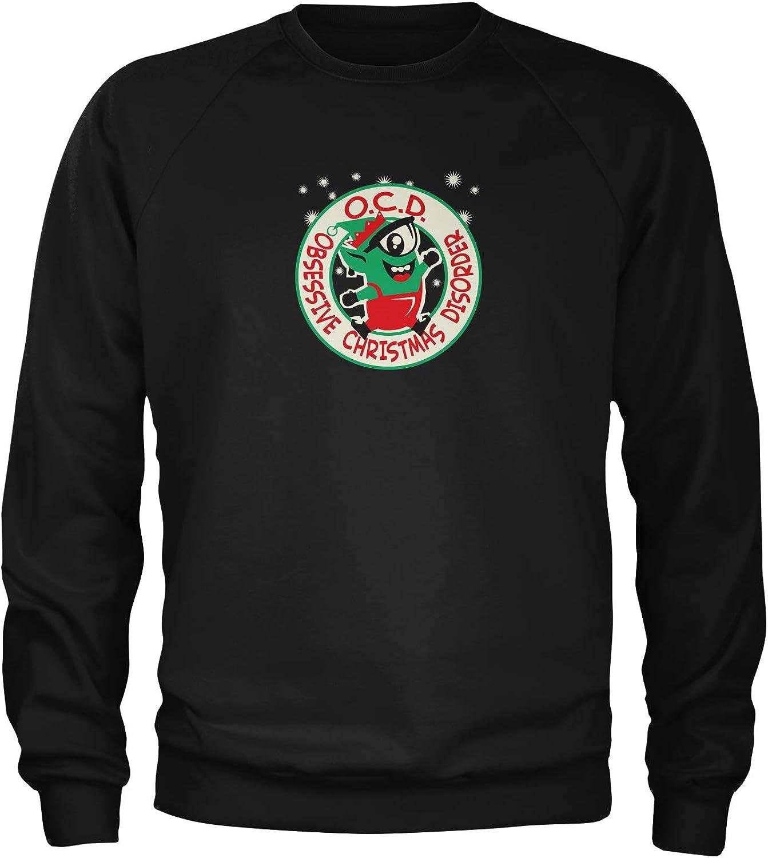 Motivated Culture Obsessive Christmas Disorder Crewneck Sweatshirt