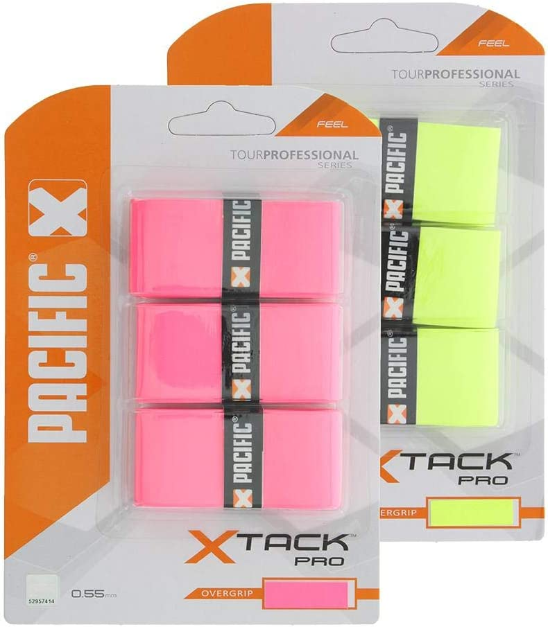 Pacific X Tack Pro Pack of 3 Overgrip One Size