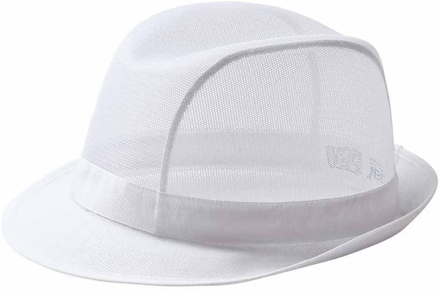 Small Trilby Hat White C600