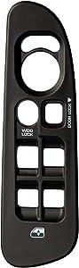 OxGord Window Switch Bezel Best for 02-10 Dodge Ram 1500/2500/3500 - OEM Replacement 5HZ71XDVAE 5HZ71XDVAD 5HZ71XDHAE 5HZ71XDHAD & 5HZ71WL5AE (Driver Side) Front Left Door Armrest Panel Trim