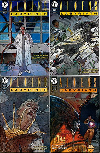 Aliens - Labyrinth #1-4 Complete Limited Series (Dark Horse Comics 1994 - 4 Comics)