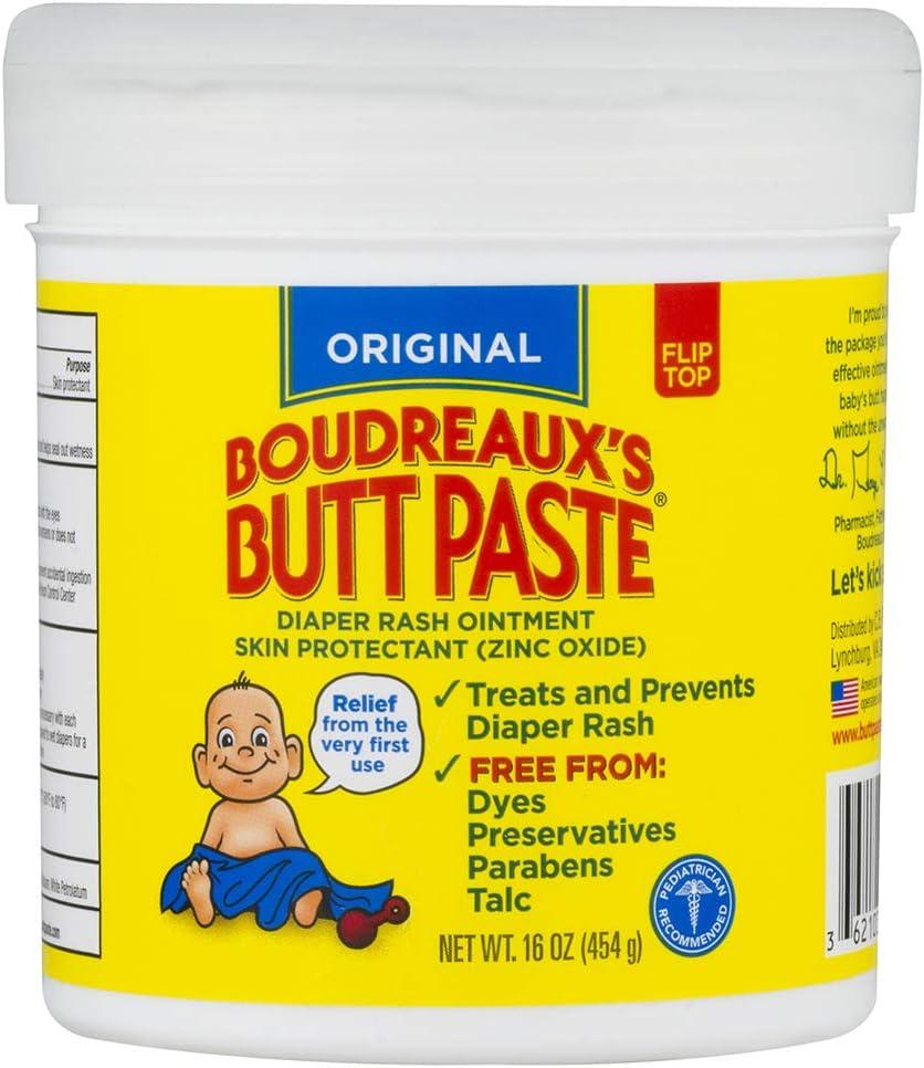 B0009RF8G0 Boudreaux's Butt Paste Diaper Rash Ointment, Original, 16 Oz 61wKD6iDrFL