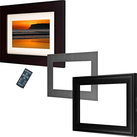 Amazon.com : Pandigital 72-56AW 7-Inch Digital Picture Frame (Black ...