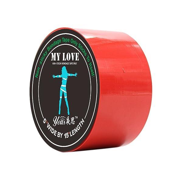5 colores)iShine Bondage Tape ropa interior divertida mujer ...