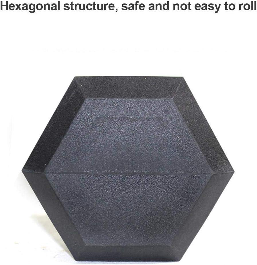 Mancuernas hexagonales Explea 1 kg // 2 kg de Mancuernas de Entrenamiento f/ísico Ejercicio Pesas c/ómodas recubiertas de Hierro Fundido Agarre de Ajuste c/ómodo Herramientas de Equipo