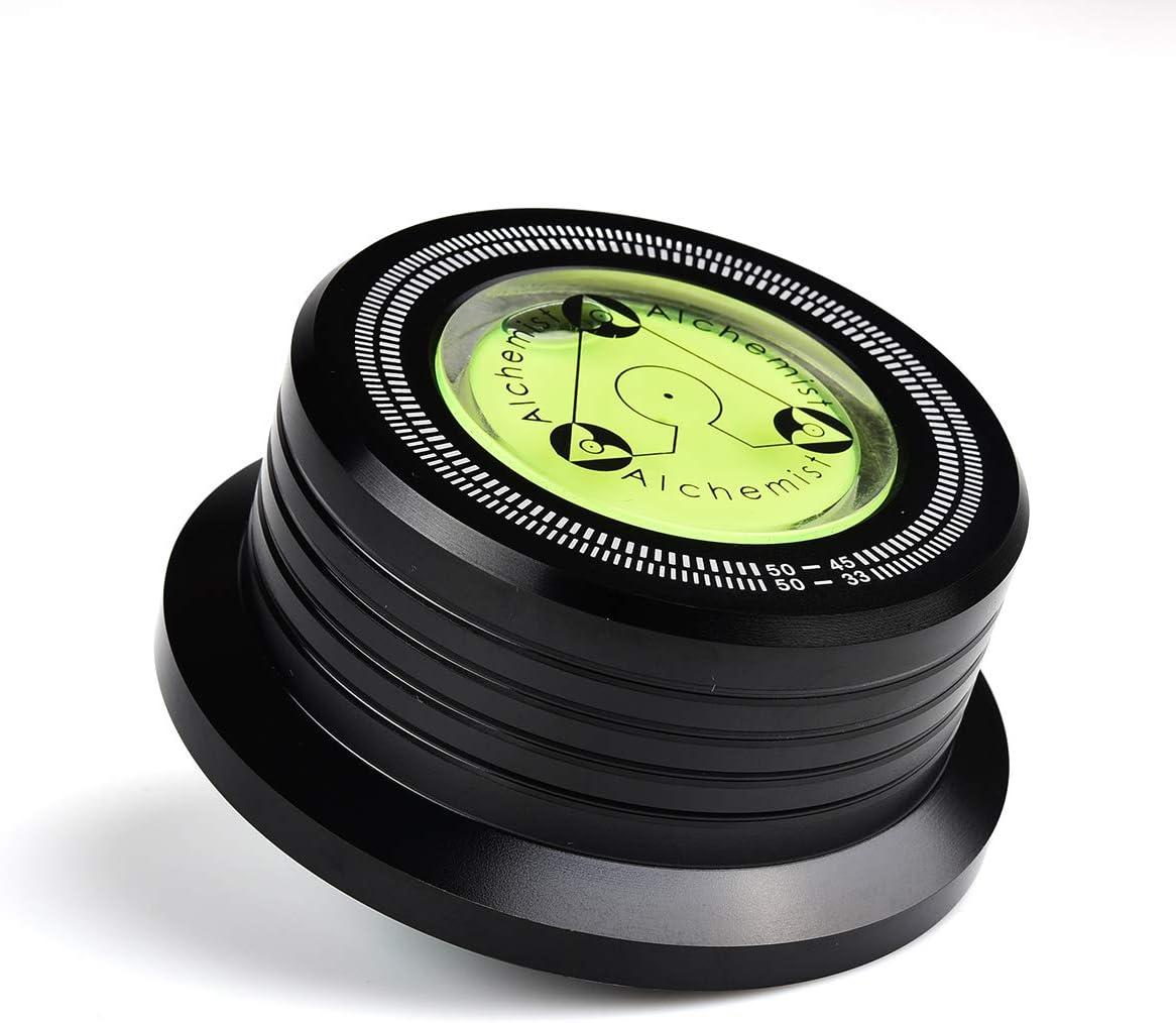 MUSITREND 50 Hz Tocadiscos Disc Record Peso Estabilizador Clamp LP ...