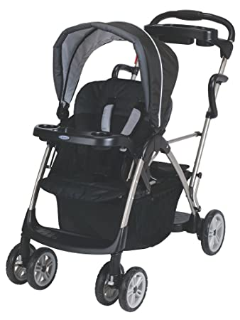 Gotham Roomfor2 Graco Room For 2 Click Connect Stand and Ride Double Stroller
