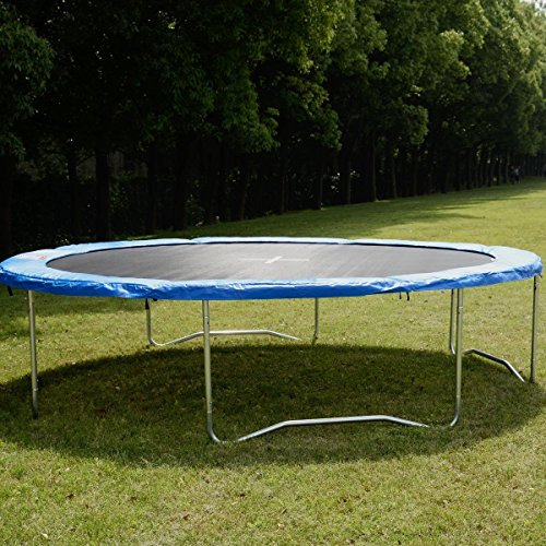 Safety-Round-Frame-Blue-Pad-Spring-Pad-Replacement-Cover-for-10FT-Trampoline-New-Item-Ways