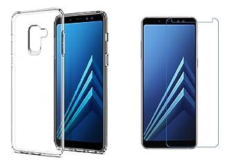 classic fit 8ef92 de981 Samsung Galaxy A8 2018 Case, Galaxy A8 2018 Cover: Amazon.co.uk ...