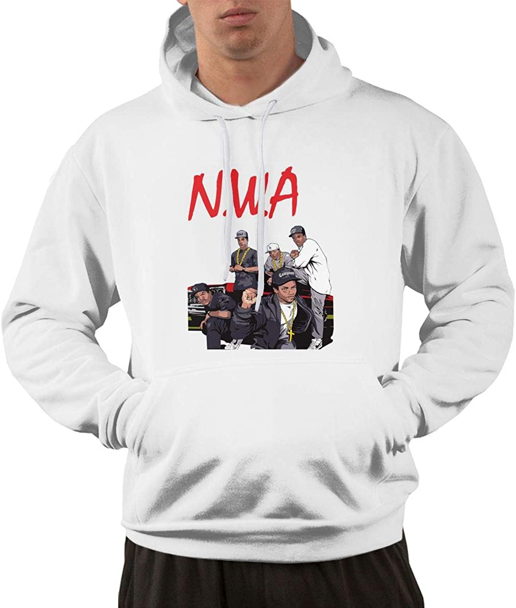 TIANBA Classic N.W.A Hoodie Sweatshirt for Men Black