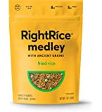 RightRice Medley - Fried Rice (7oz. Pack of 1) - Made from Vegetables – Ancient Grains and More Veggies, Vegan, non GMO…