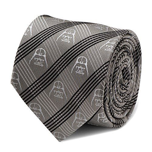 (Star Wars Darth Vader Gray Plaid Tie, Officially)