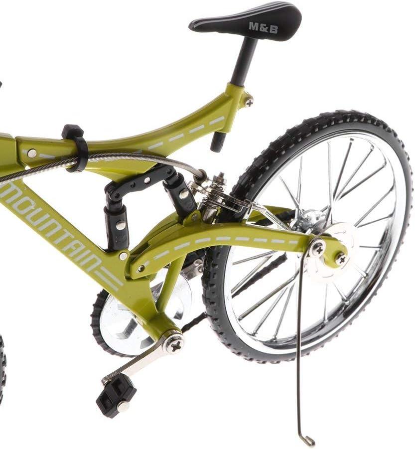 WZSP 1/10 Báscula Metal Bicicleta Modelo Montaña Bicicleta Cool ...
