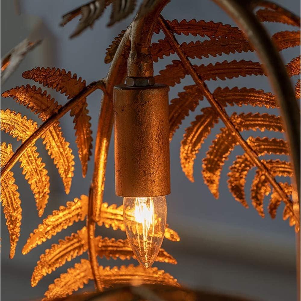 180cm Metall Palme Stehlampe Mit Gold Finish 3 Light Gold Baum