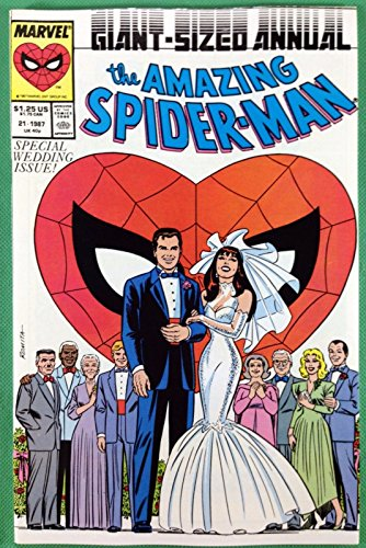 Amazing Spider-Man Annual (1964) #21 NM (9.4) Peter Parker Mary Jane wedding
