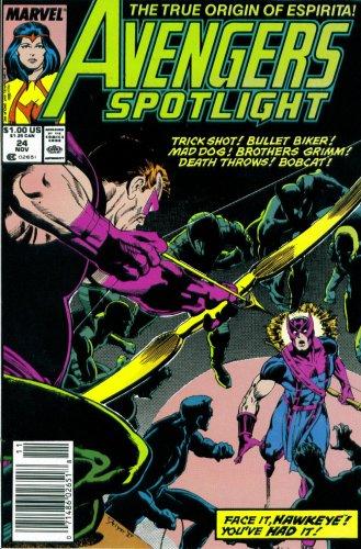 Books : Avengers Spotlight #24 : Featuring Hawkeye and Firebird (Marvel Comics)