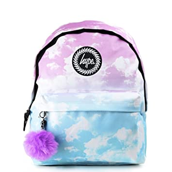 e1ec2f8c8fc6 Hype Pastel Clouds Backpack Multi Schoolbag SS-013 Hype Bags  Amazon ...