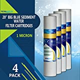 water filter pitcher ratings Big Blue Sediment Replacement Water Filters 1 Micron 4.5