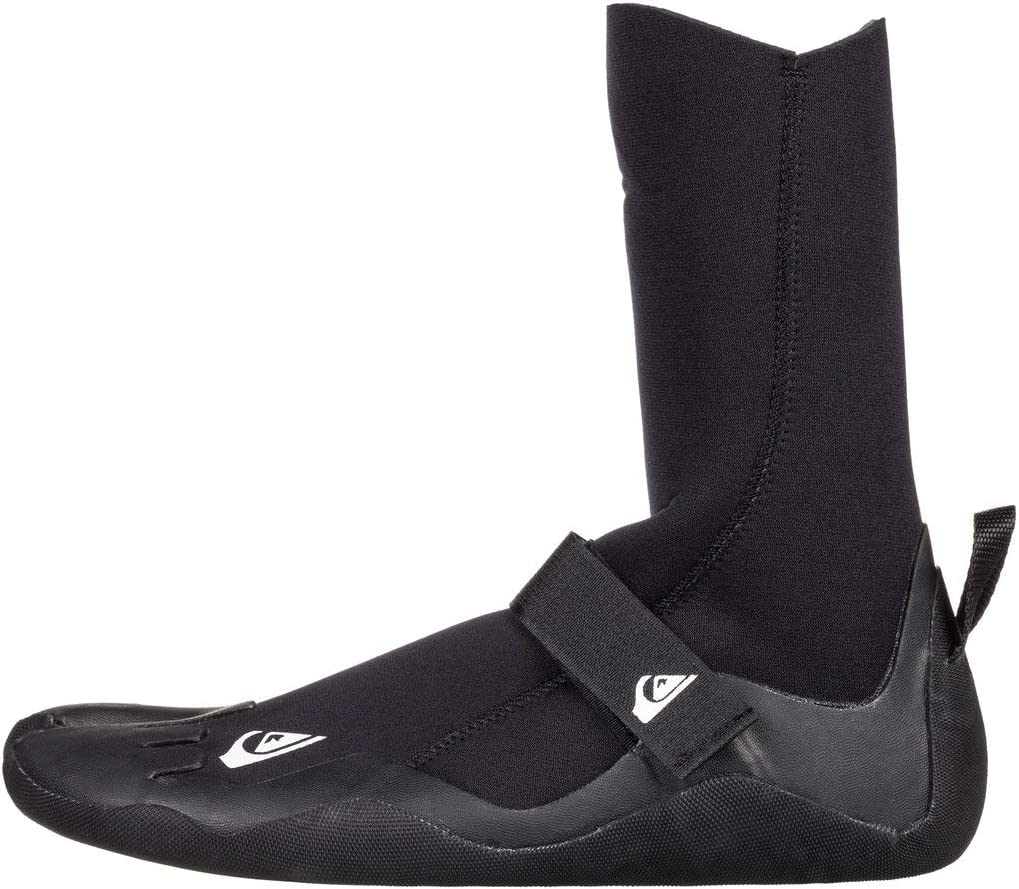Quiksilver Mens 3Mm Syncro Round Toe Surf Boots for Men Round Toe Surf Boots