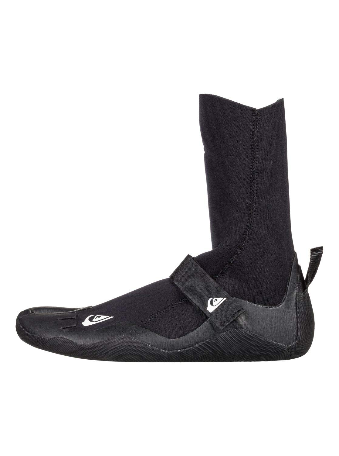 Quiksilver Mens 5Mm Syncro - Round Toe Surf Boots Round Toe Surf Boots Black 9 by Quiksilver