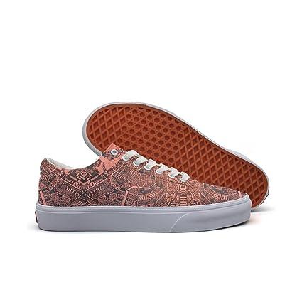 Womens Skateboarding Shoes Canvas Design Cityspace Sport Sneaker