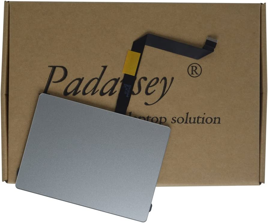 """Padarsey (923-0438) Trackpad with Flex Cable for Apple MacBook Air 13"""" A1466 (Mid 2013, Early 2014, Early 2015)"""