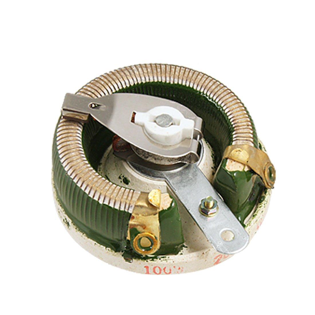 Sourcingmap a11082400ux0196 in ceramica disco reostato Potenza resistore variabile 100 W 20 Ohm –  Colori assortiti ( –  ) Uxcell