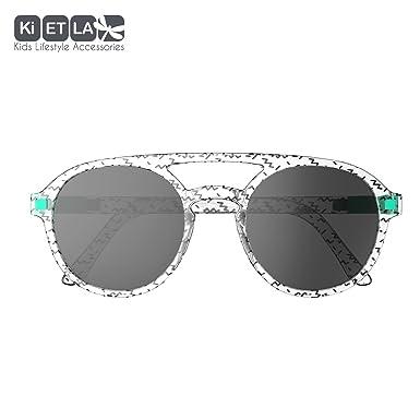 Ki ET LA La Piloto T6 Gafas de Sol, Amarillo/Negro, 5 Unisex ...