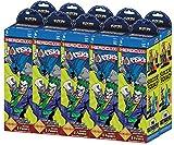 DC Heroclix: The Joker's Wild! Booster Brick ( 10 Count ) Wizkids 72504