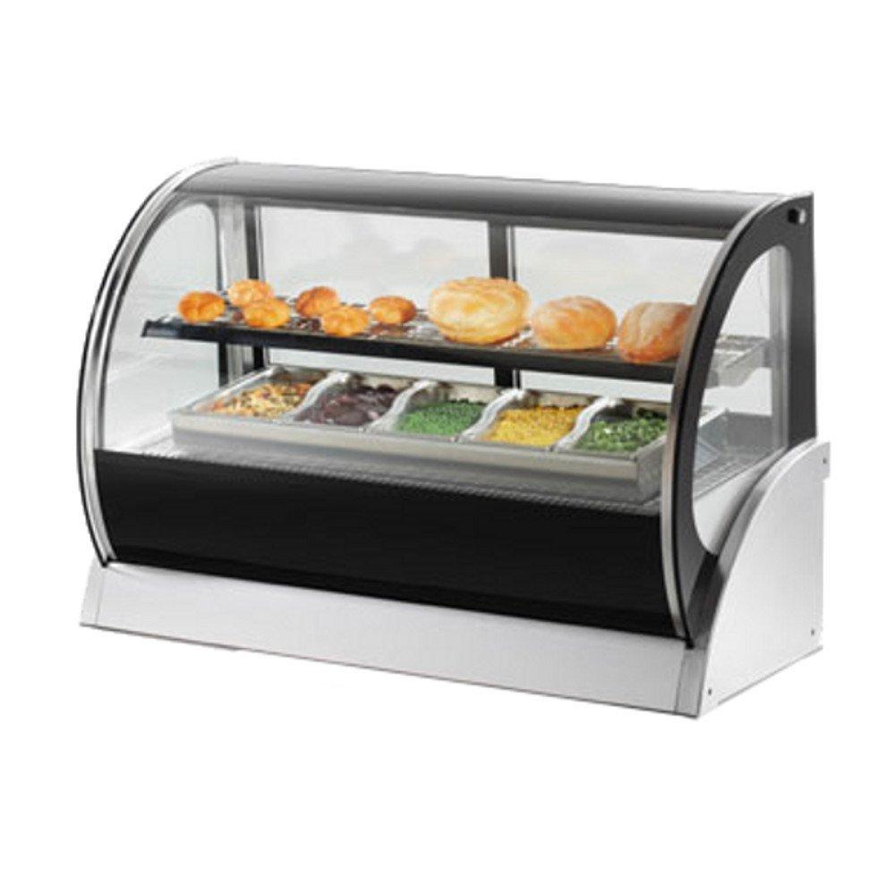 Vollrath 40857 60'' Countertop Heated Hot Food Display Case