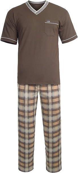 e.VIP Paul SL 738 - Pijama para hombre (algodón)
