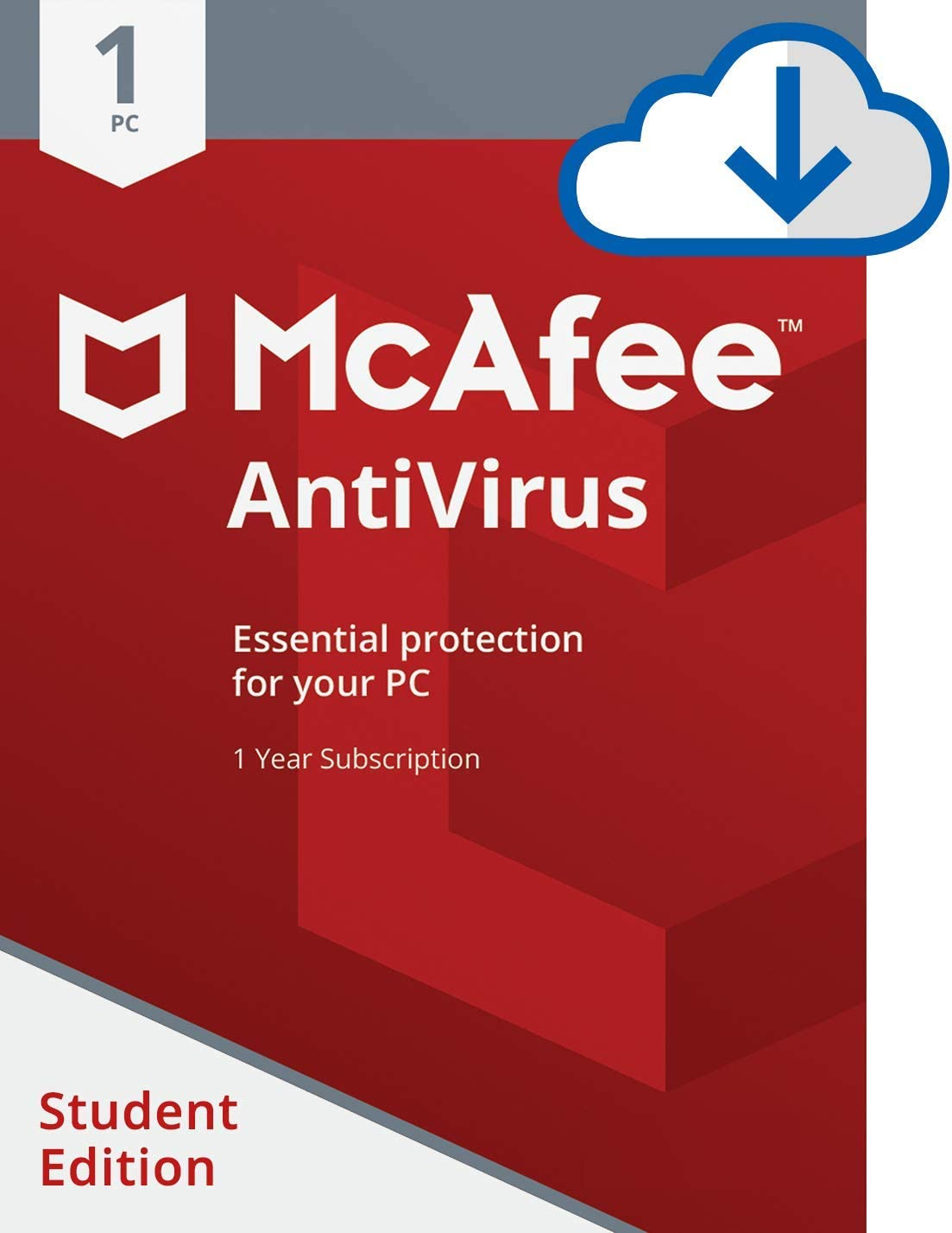 B0711YP2WN McAfee AntiVirus 1 PC Student Edition [Online Code] 61wKMqDd9GL