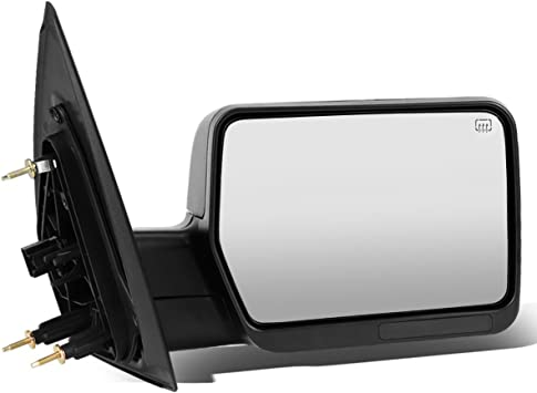 Amazon Com Replacement For Ford F150 Black Powered Heated Glass Manual Folding Side Towing Mirror Right Passenger Automotive