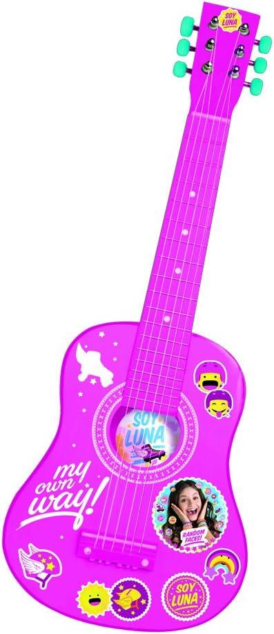 Guitarra Madera Soy Luna Disney Color 65cm