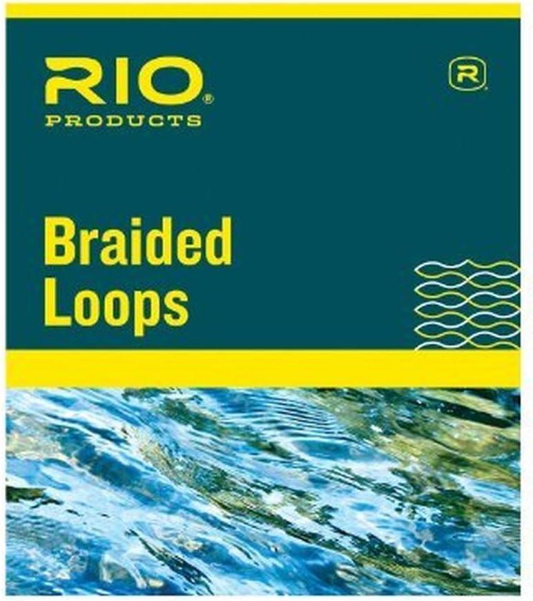 Rio 171197-Maurice Braided Loops Regular 3-7 Fishing Equipment Pack of 4