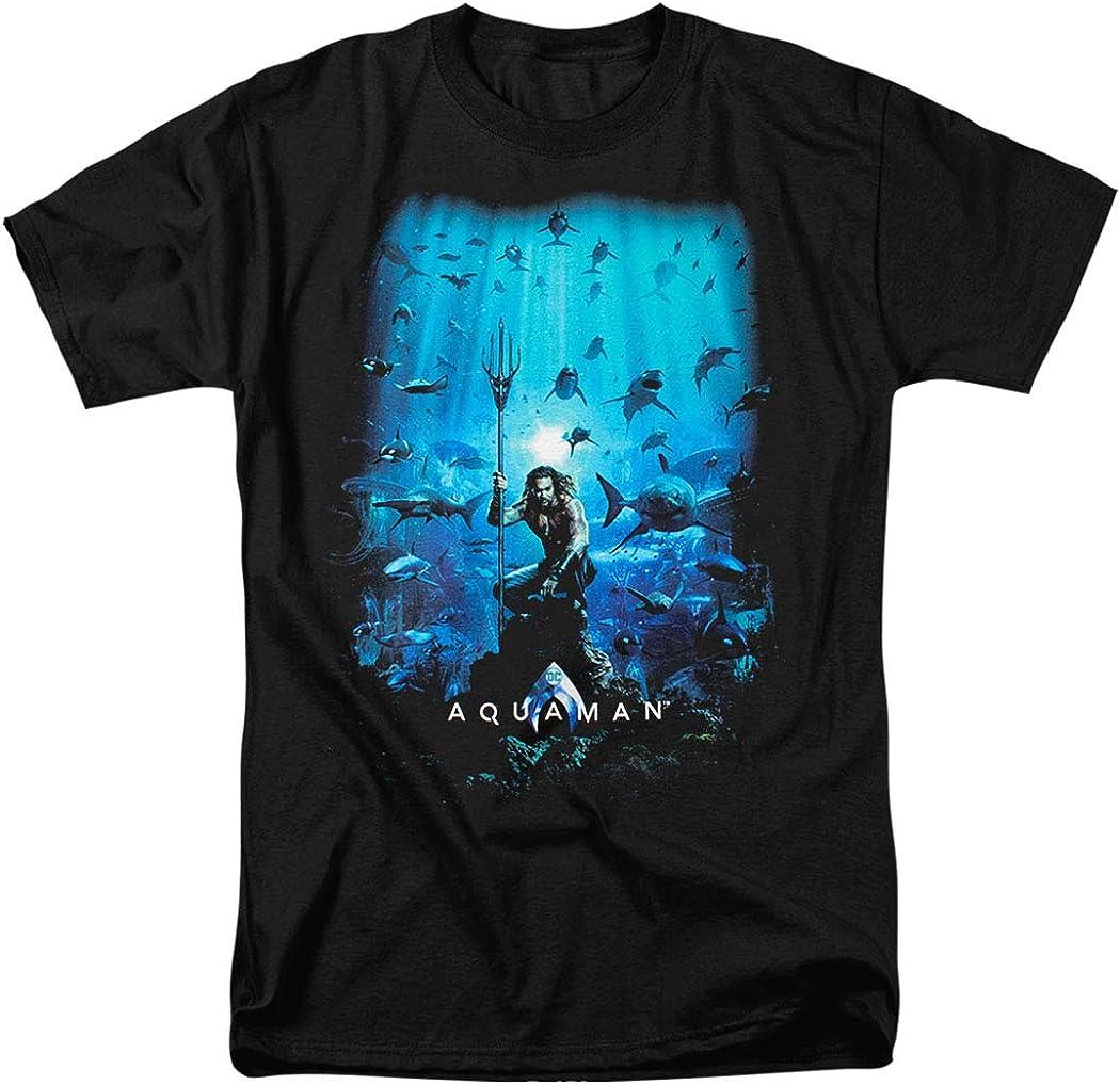 Popfunk Aquaman Movie Adult T Shirt Collection
