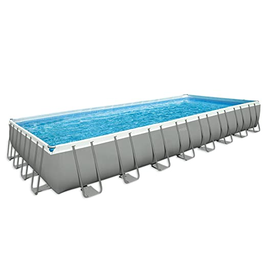 Intex Ultra Frame - Piscina desmontable, 975 x 488 x 132 cm, con ...