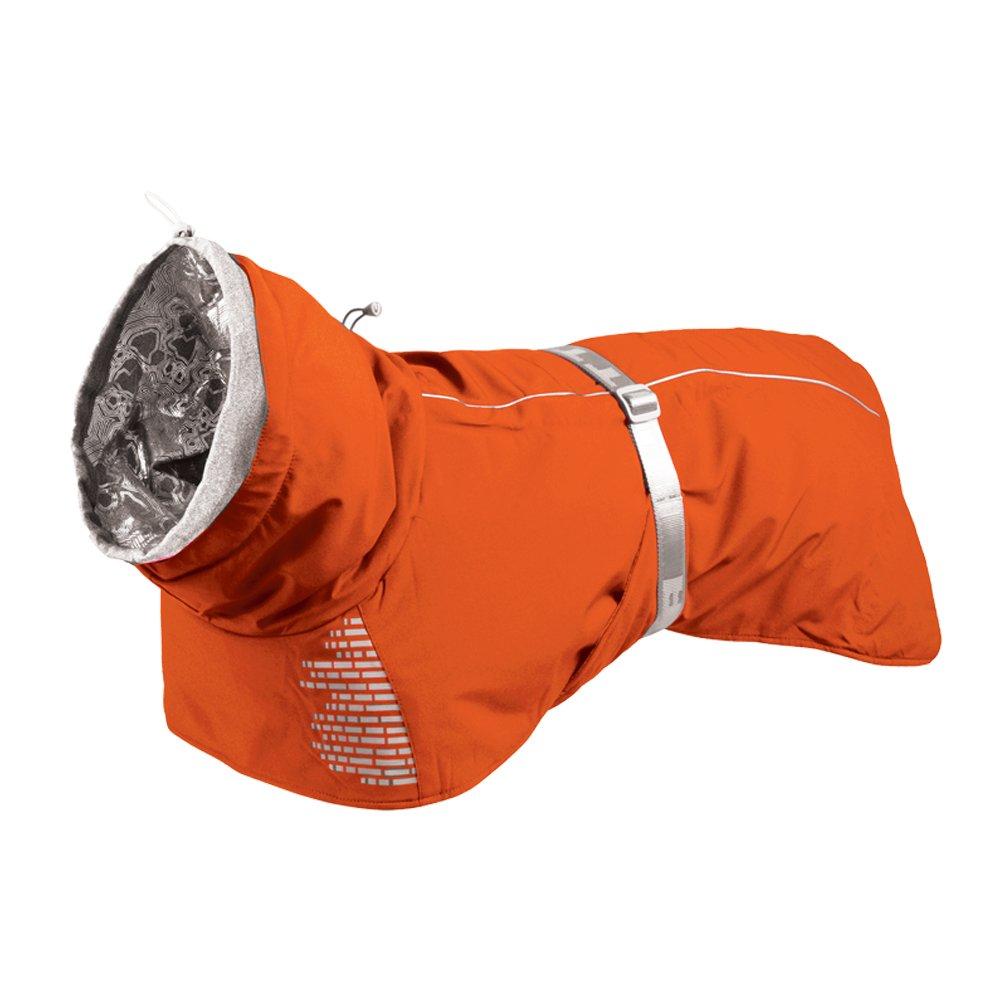 Hurtta Extreme Warmer Dog Winter Jacket, Orange, 22 in by Hurtta