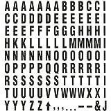 Quartet Magnetic Letter and Symbol Set, 120 Pieces, Black (ML)