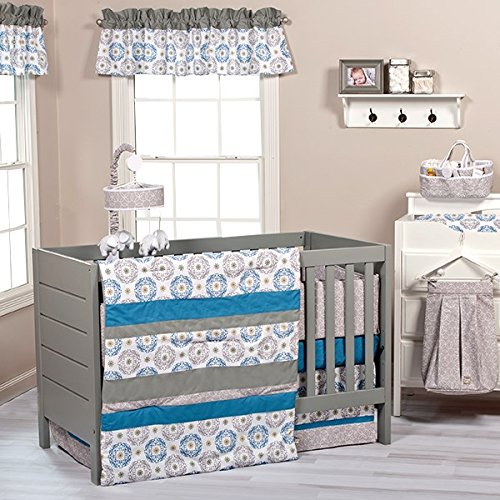 Trend Lab Monaco 6-PС Complete Nursery Crib Bedding Set=mos
