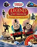 Thomas & Friends: Sodor's Legend of the Lost Treasure Movie Sticker Book (Thomas & Friends Movie Sticker)