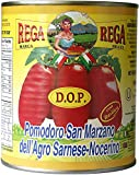 italian plum tomatoes - San Marzano DOP Authentic Whole Peeled Plum Tomatoes (4 Pack)