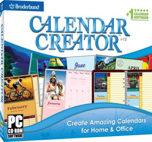 Calendar Creator Platinum V12