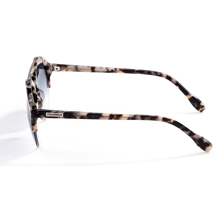 COLOSSEIN Verano Moda Gafas De Sol De Las Mujer Gafas Acetato Marco ...