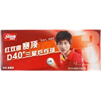 DHS Dual D40+ 3*** ITTF (Pack of 10 Table Tennis Balls (SEAM, New Material)