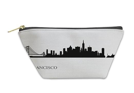 amazon com gear new accessory zipper pouch san francisco city