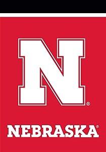"Briarwood Lane Nebraska Cornhuskers Garden Flag NCAA Licensed 12.5"" x 18"""